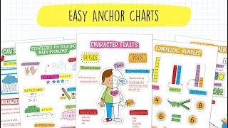 Easy Anchor Charts: Convenient, Flexible & Eye-Catching