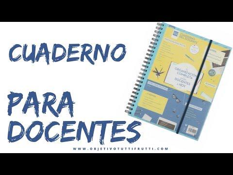 Cuaderno DOCENTE para profesores/as  #Review @finocam