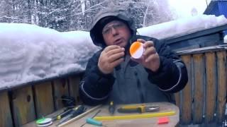 Как сделать катушку для жерлицы своими руками из пеноплекса