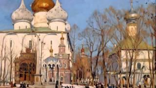 Пасхальные песнопения Троице Сергиевой Лавры