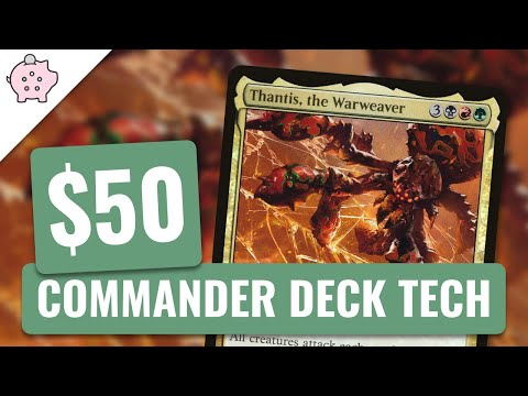 Thantis, the Warweaver | EDH Budget Deck Tech $50 | Turbo Fog | Magic the Gathering | Commander