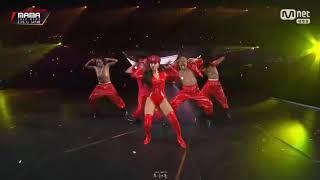 MAMAMOO'S HWASA Don't Performance in 2018 MAMA JAPAN 🔥