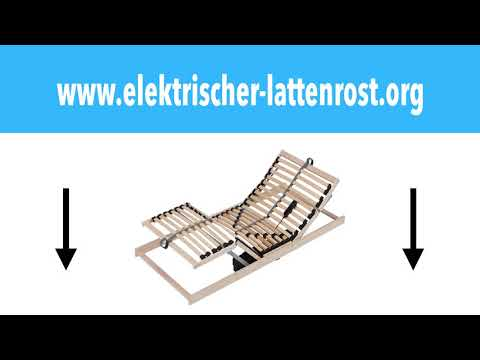 Elektrischer Lattenrost 80x200