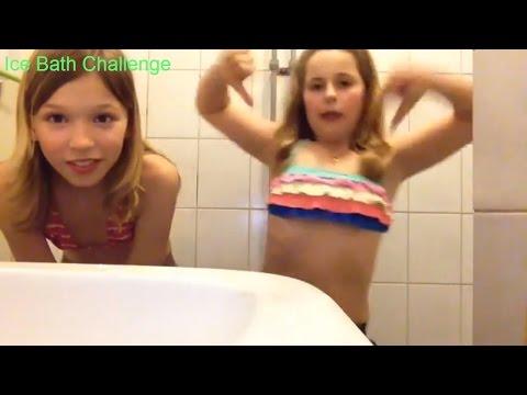 Ice Bath Challenge  Desafio da pisina   Water challenge