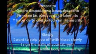 Despacito (Lyrics in English)- Luis Fonsi ft. Daddy Yankee