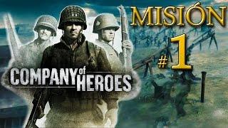 """Company of Heroes - Batalla de Normandía - Misión 1: """"Playa de Omaha"""""""