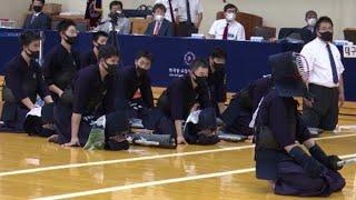 2020 춘계 전국중고등학교검도대회 고등부 단체전 과천고 VS 경북고