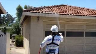 House Wash w/SoftWash Sanitation Process