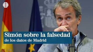 """Simón sobre los datos de coronavirus de Madrid: """"Tienen la misma calidad que los demás"""""""
