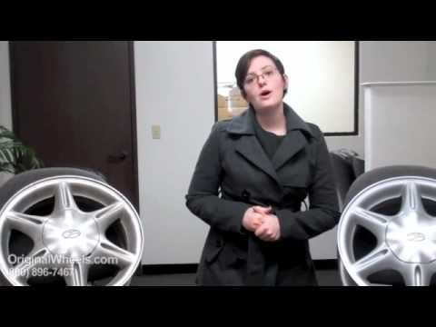Intrigue Rims & Intrigue Wheels - Video of Oldsmobile Factory, Original, OEM, stock new & used rim