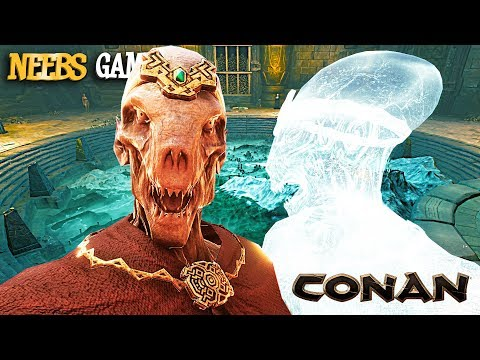 Conan Exiles - ALIEN GHOSTS?!