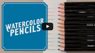 5 Watercolor Pencil Techniques For Cardmaking | Stampin' Up!