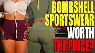 HONEST Bombshell Sportswear Try-On Haul & Review (Versus Gymshark)
