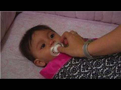 Baby Parenting Skills : How to Put a Baby to Sleep With a Pacifier