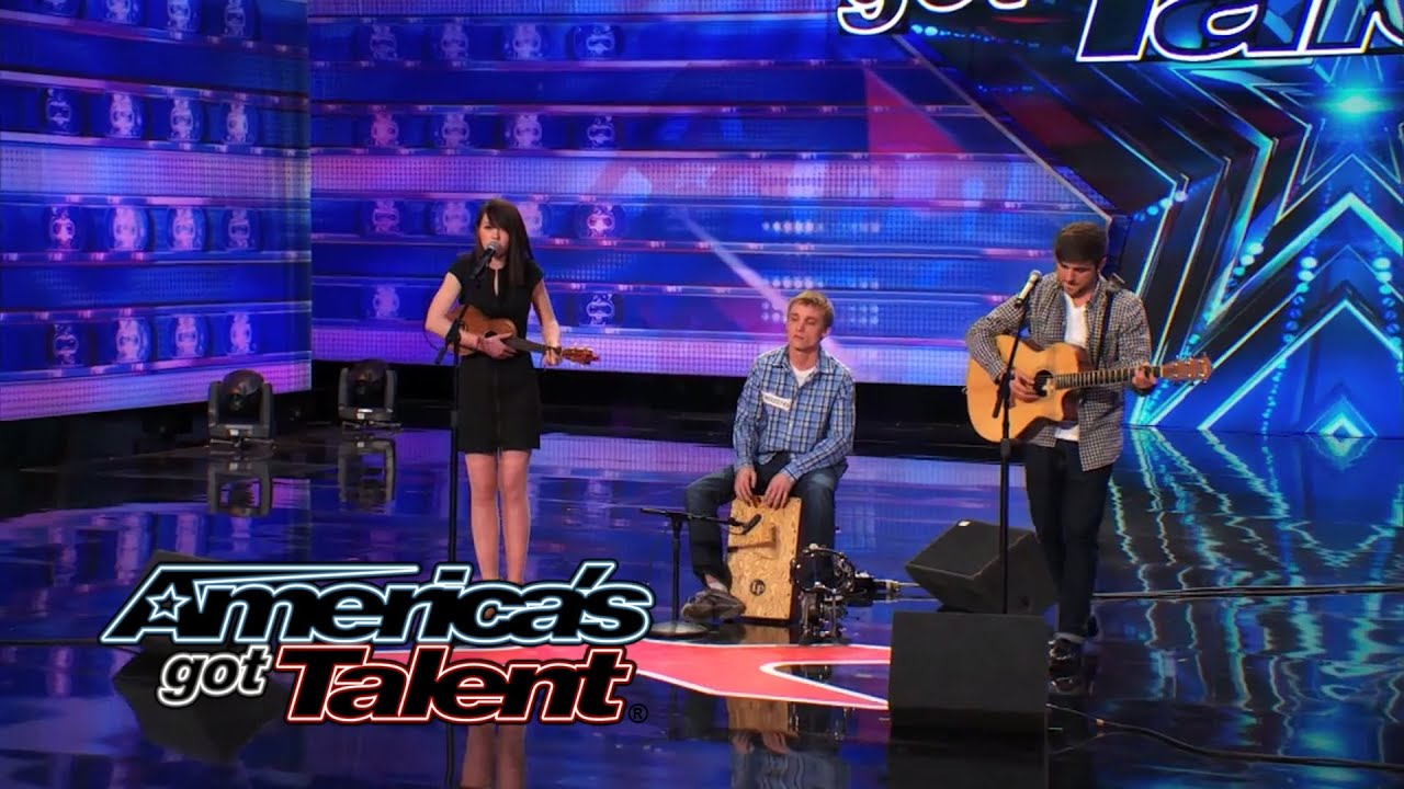 "Livy, Matt & Sammy: Folksy Cover of Bastille's ""Pompeii"" Wows the Crowd - America's Got Talent 2014 thumbnail"