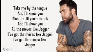 Maroon 5 - Moves Like Jagger (Lyrics) ft. Christina Aguilera