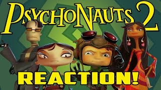 PSYCHONAUTS 2 IS A REALITY! - Announcement Reaction