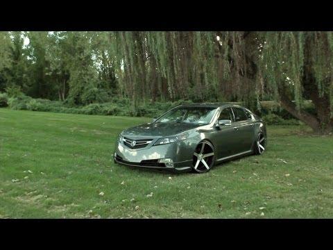"Acura TL on 20"" Vossen VVS-CV3 Concave Wheels / Rims"