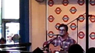 Anthony Green Acoustic Set at Waterloo Records in Austin, Texas Pt.1