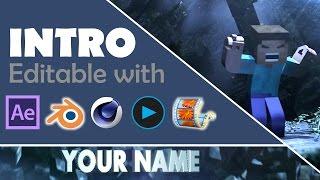 FREE Minecraft Ultimate Dubstep INTRO TEMPLATE (AE, Blender, C4D, Vegas, Moviemaker)