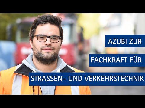 """""""Was machst du so?""""- Ausbildung als Fachkraft für Straßen- und Verkehrstechnik"""