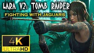Lara sexy và Báo đốm - 4K Ultra HD - Shadow of the Tomb Raider