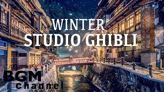 Studio Ghibli Cafe Music   Winter Jazz & Bossa Nova Music For Work, Study   Happy New Year!!