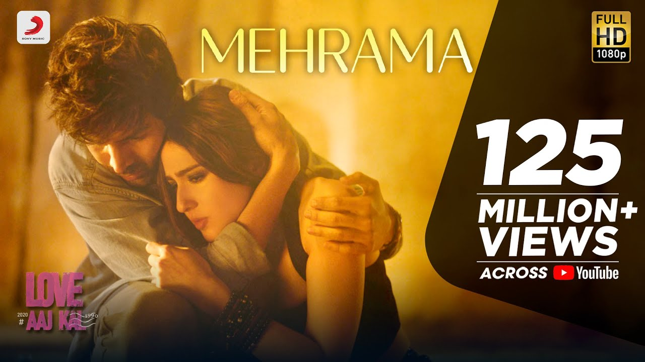 Mehrama Lyrics - Love Aaj Kal 2 | Darshan Raval Ft. Kartik and Sara