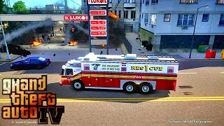Grand Theft Auto IV - FDLC/FDNY - 53rd day with the fire
