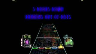 3 Doors Down - Running out of Days 100% FC / Guitar Hero 3 Custom Song (PC)