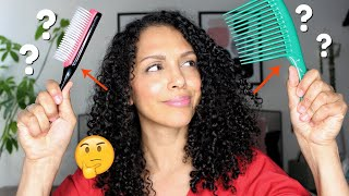 Denman Brush Vs Wide Tooth Comb On Fine Curly Hair (What Is Better?)