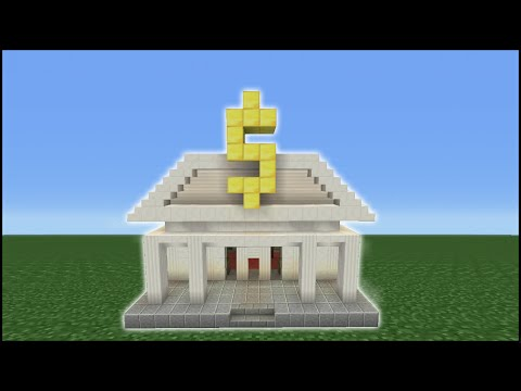 Minecraft Tutorial: How To Make A Bank
