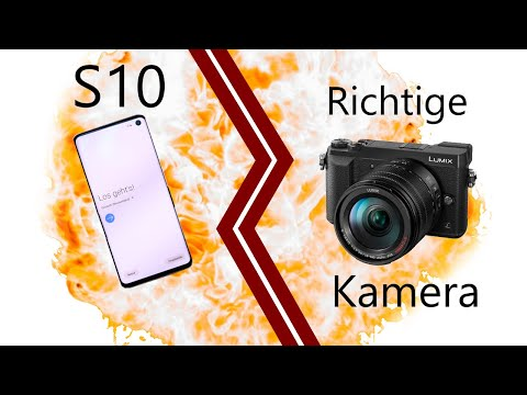 HANDY vs. RICHTIGE KAMERA | Samsung Galaxy S10 & Panasonic GX80 Kamera Test