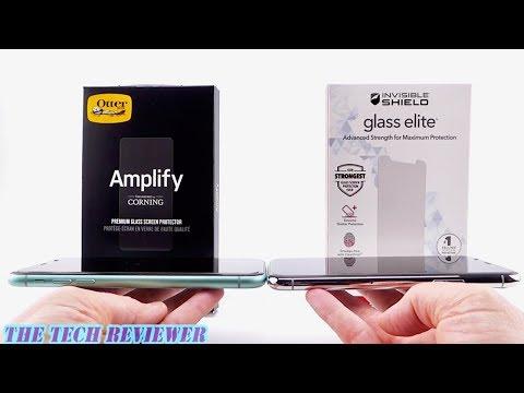OtterBox Amplify vs Zagg Glass Elite for iPhone 11 & 11 Pro: Installation, Comparison & Review!