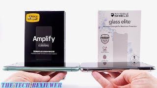 OtterBox Amplify vs Zagg Glass Elite for iPhone 11 & 11 Pro: Installation, Comparison & Review!