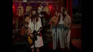 Feist: 2011 New York & Los Angeles (Letterman & Kimmel)