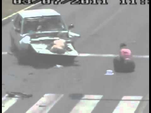 תיעוד: תאונת דרכים מצמררת!