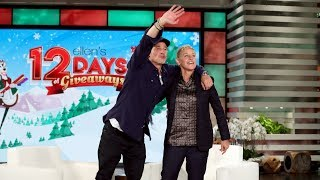 """Brad Pitt was expecting to win some 12 Days of Giveaways tickets while a guest on the show, and Ellen didn't want to let him down, so she invited the entire audience to return for the most wonderful time of the year! Plus, the star talked about his new film """"Ad Astra"""" and how it's the exact opposite of a superhero movie.  #BradPitt #TheEllenShow #Ellen #Ellen"""
