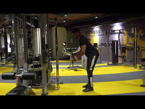 Cable Bent-over Triceps Extension