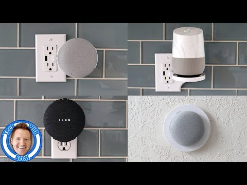 Mount Genie Google Home Mini Mounts & New Smart Home Shelf Review