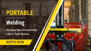 Portable Welding Manipulator Demonstration (MNC4-100)
