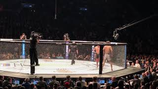 UFC 223 - Zabit vs Kyle - last moments