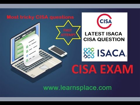 ISACA Exam Questions 2021 - YouTube