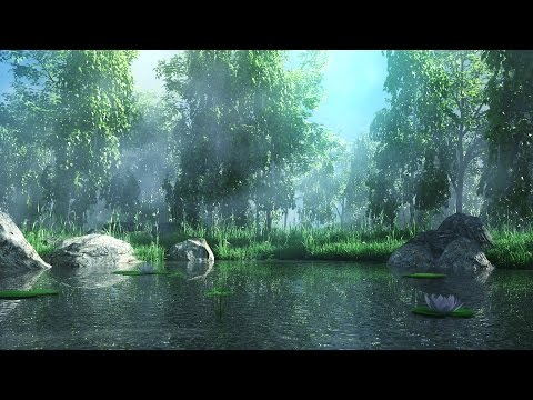 Making of forest lake 3ds max tutorial – Environment modeling