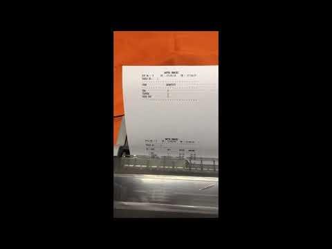 Payment Receipt Printer