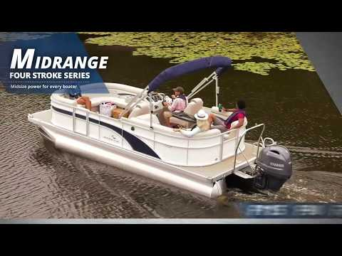 2019 Yamaha F40 Midrange Tiller 20 in Coloma, Michigan - Video 2