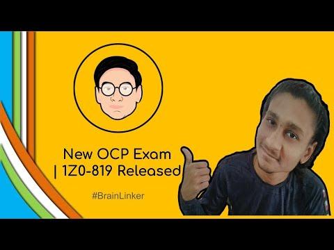 New OCP Exam | 1Z0-819 Released - YouTube