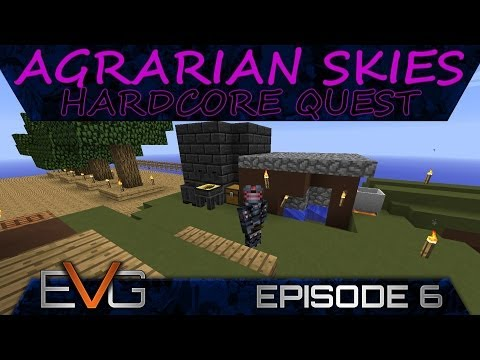 Agrarians Skies: Hardcore Quest Episode 2 - Smeltery