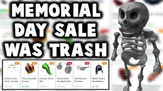 Was the roblox memorial day sale terrible!? 💀