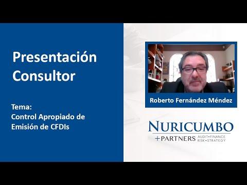 Diálogo con Roberto Fernández Méndez - Control apropiado de emisión de CFDis